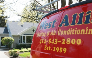 West Allis Heating Truck