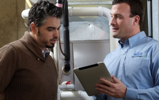 It's important to have your furnace and a/c maintained yearly