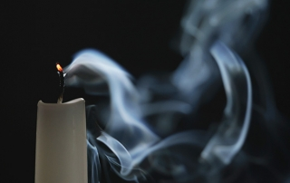 extinguished candle